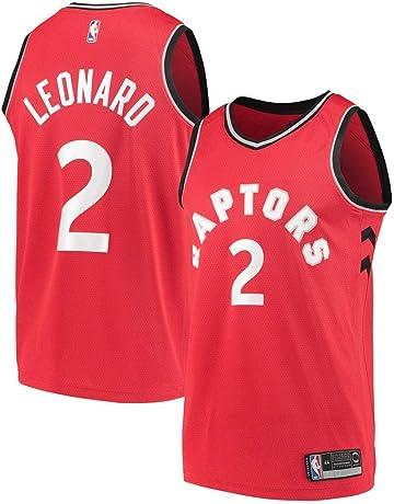 e6c7235ff36 Majestic Men's Toronto Raptors # 2 Kawhi Leonard Jersey - Red/White S-XXL