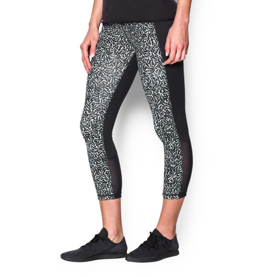 Under Armour Womens Mirror Color Block Crop