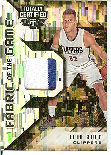 Basketball NBA 2015-16 Totally Certified Fabric of the Game Materials Camo #11 Blake Griffin MEM 14/25 Clippers from Totally Certified