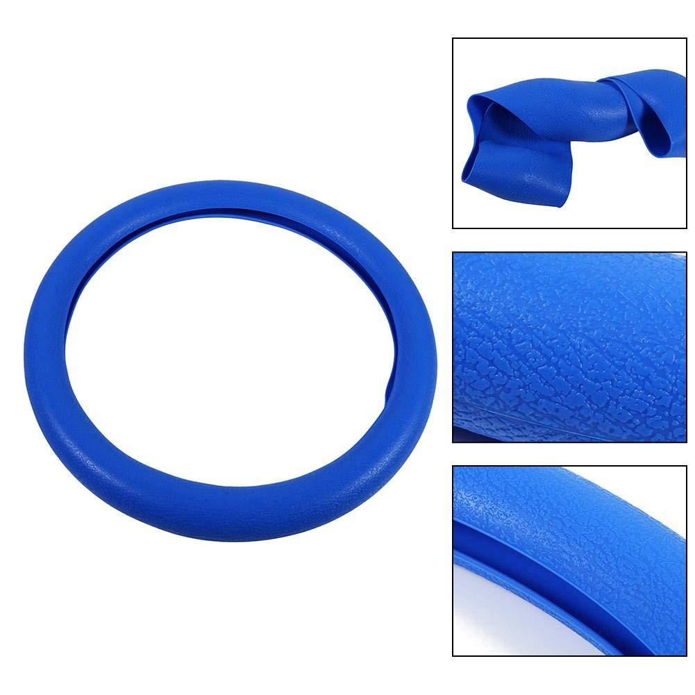 40 cm Keenso antideslizante para di/ámetro de 36 Funda universal de silicona para volante de coche