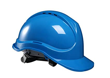 Transpirables Cascos-sensacional Anti Obra De Construcción Del Casco,Blue