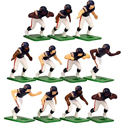 Image Unavailable. Image not available for. Color  Chicago Bears Home  Jersey NFL Action Figure Set 17a3da4b6