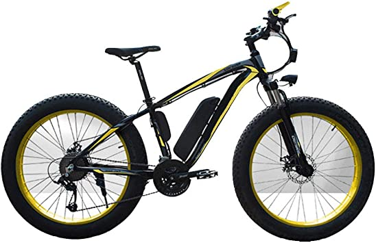 Heatile Bicicleta eléctrica de montaña Motor sin escobillas 350W ...