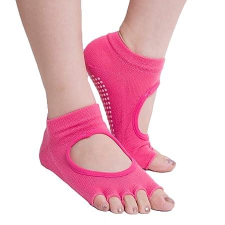 Calcetines de yoga, calcetines de cinco dedos, calcetines ...