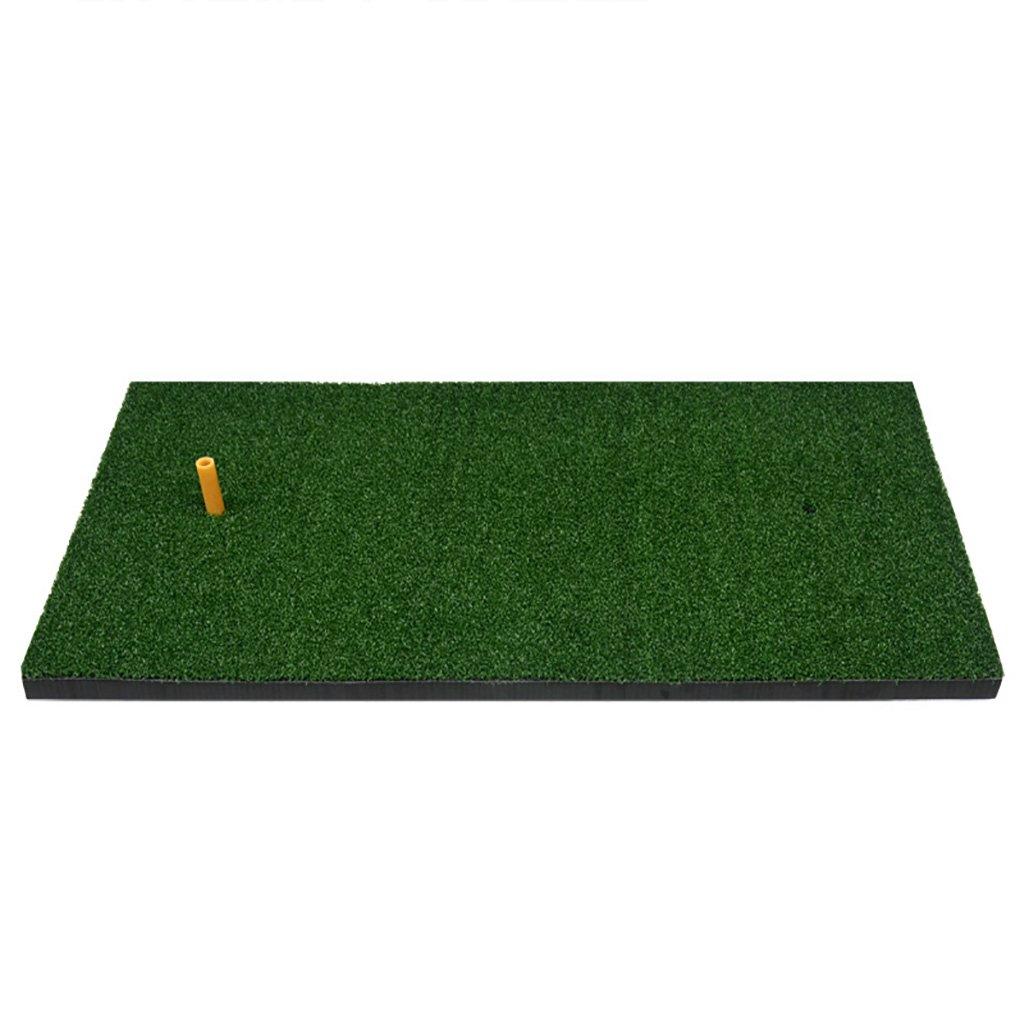 マットゴルフミニゴルフパター練習用ポータブル1ティー、厚さ5 mm、27.6 * 15.7インチ4スタイルオプション   B07GLS4D5D