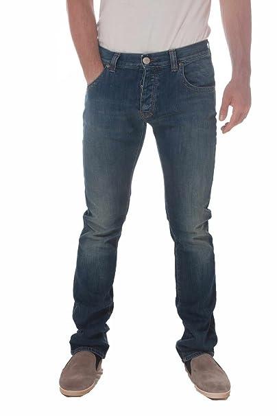 Armani Jeans J08 5 bolsillo pernera recta Jean en Darkwash ...