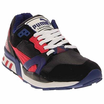 88fc9605e51 Puma Mens Running Shoes Size 7.5 M 35586815 Trinomic Xt2 Black Textile