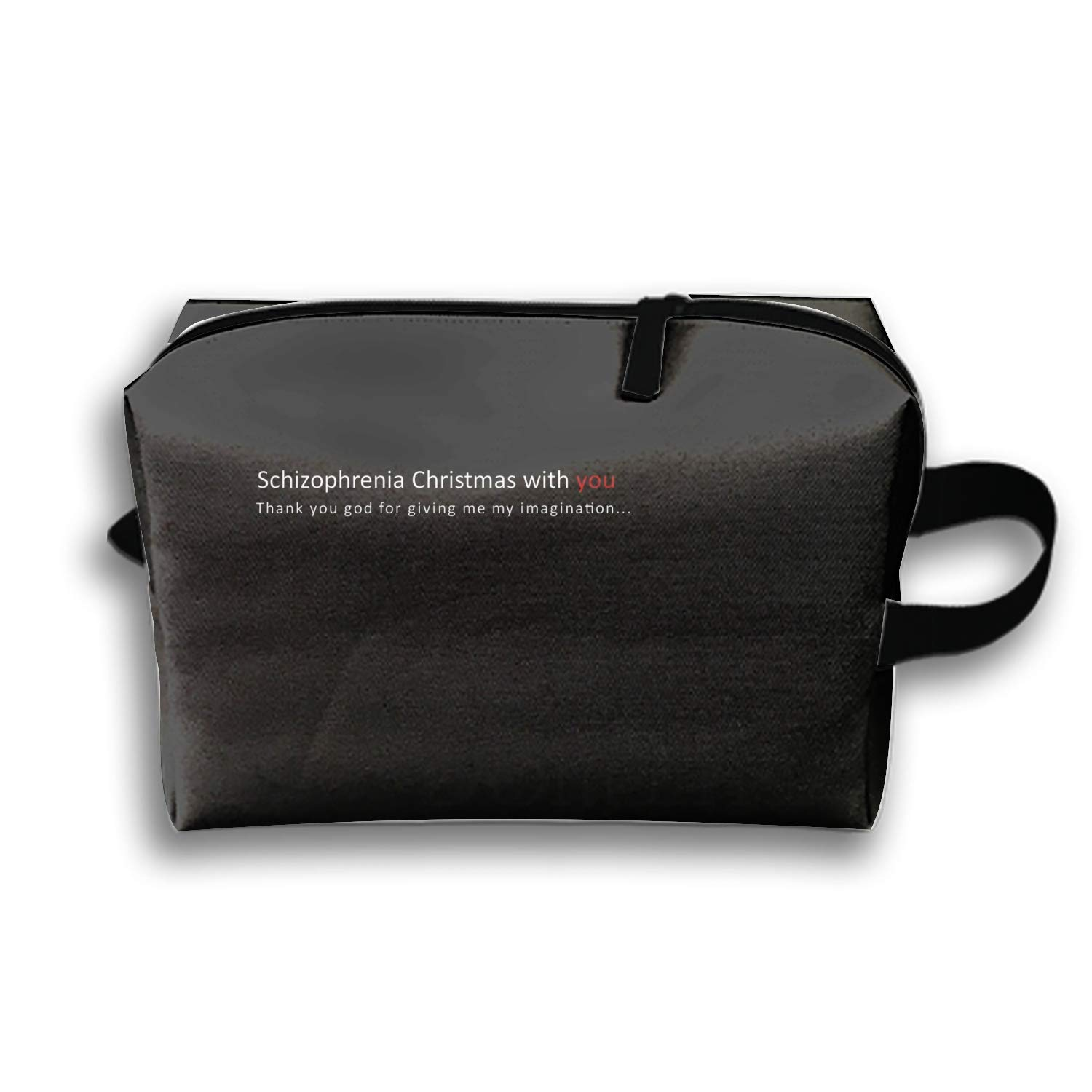 Amazon.com   Portable Storage Pouch Bag Holiday Christmas Travel Case for  Girl Makeup Cosmetics   Beauty 9295cf5902a4b