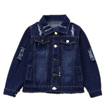 231df5f8e Amazon.com  Tronet Baby Boy Girls Jacket Infant Toddler Kids Hole ...