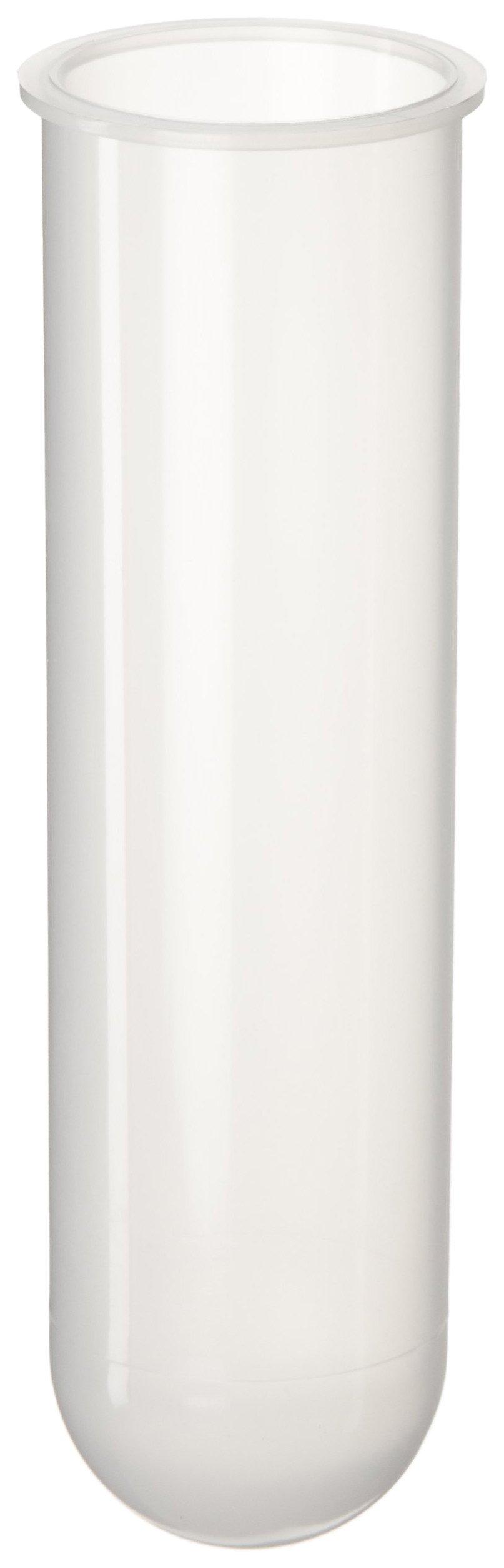 Nalgene 3110-9500 Polypropylene 50mL Round-Bottom/Open-Top Centrifuge Tube with LippedTranslucent, (Pack of 10)