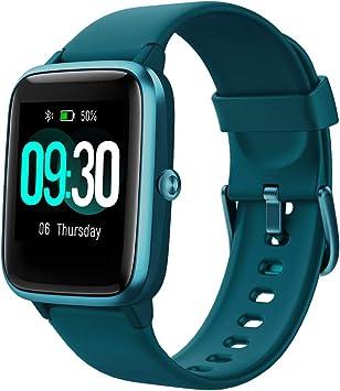 Oferta amazon: Willful Smartwatch,Reloj Inteligente con Pulsómetro,Cronómetros,Calorías,Monitor de Sueño,Podómetro Monitores de Actividad Impermeable IP68 Smartwatch Hombre Reloj Deportivo para Android iOS