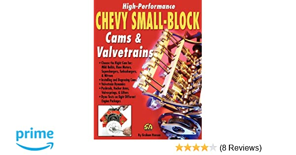 High performance chevy small block cams and valvetrains graham high performance chevy small block cams and valvetrains graham hansen 9781613250563 amazon books fandeluxe Choice Image