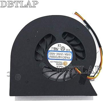DBTLAP CPU Ventilador Compatibles para MSI MS-1785 GT72 GT72S ...