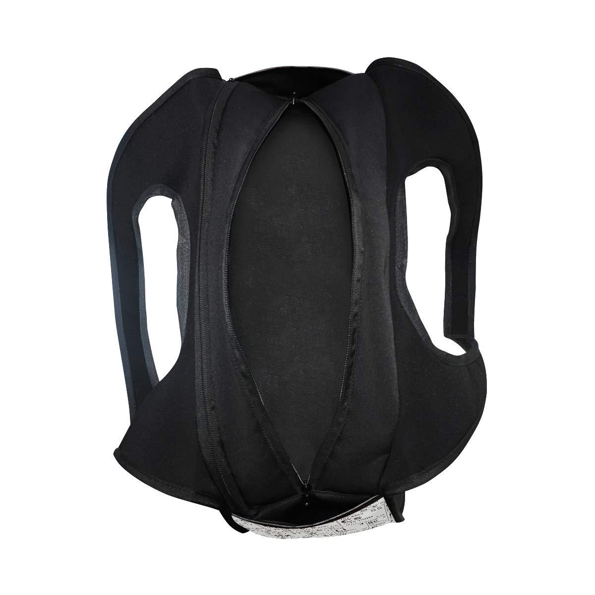 Unisex Travel Duffels Gym Bag Black White Periodic Table Of Element Canvas Weekender Bag Shoulder Bag Totes bags