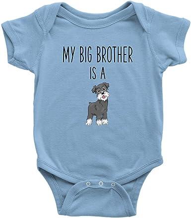 Dog Lover Gifts Baby Bodysuits Boy Shirts Miniature Schnauzer Kids Shirt I Only Love My Dog Kids T-shirt Girl Shirts