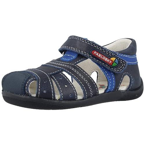 Pablosky, 076026, Sandalia Azul Marino de Niños: Amazon.es: Zapatos y complementos