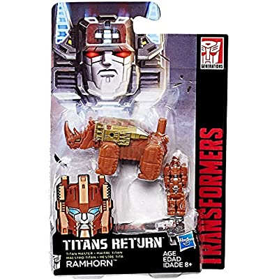 Transformers Generations Titan Master Ramhorn: Toys & Games