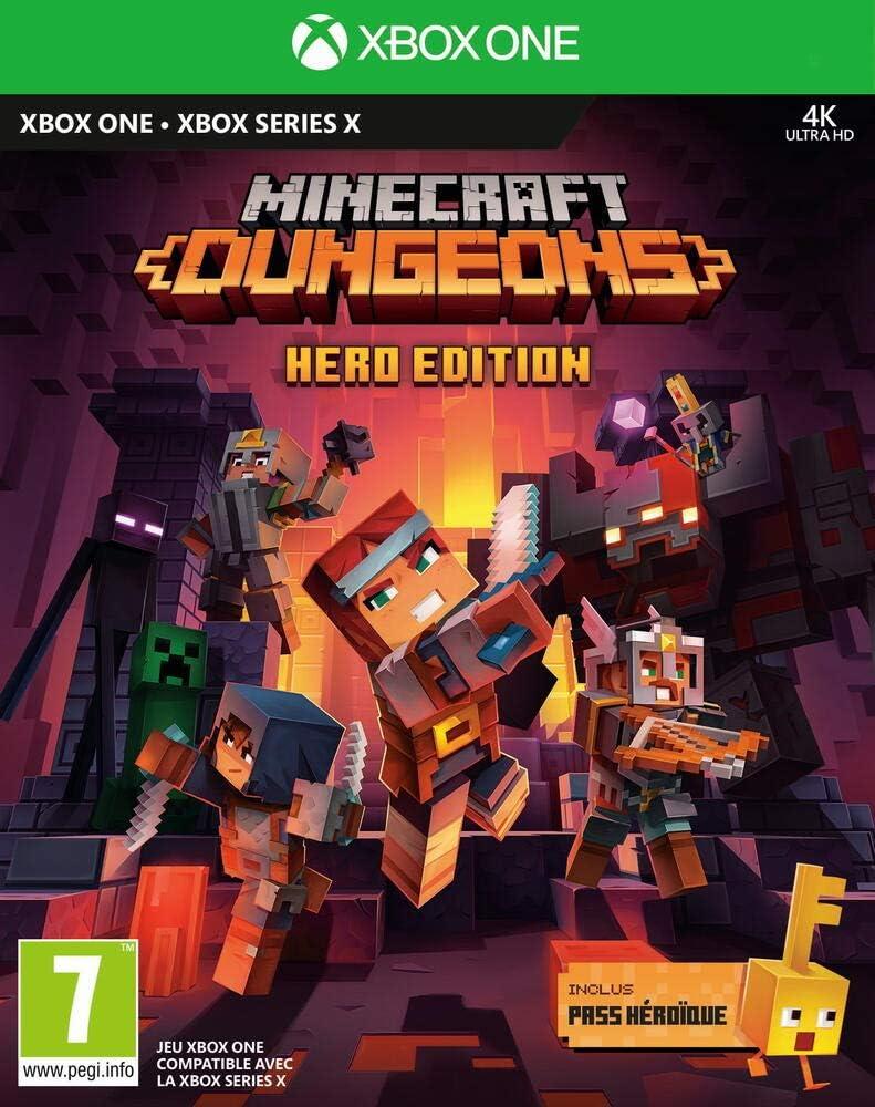 Minecraft Dungeons Hero Edition Juego para Xbox One: Amazon.es: Videojuegos