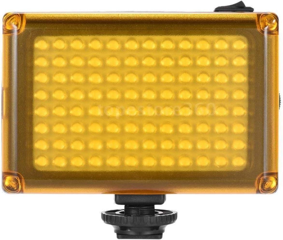 iFCOW Cam/éra Vid/éo Lumi/ère 96LED Lumi/ère Vid/éo Cam/éra Photo Chaud Chaussure Dimmable LED Lampe Pour Cam/éscope DV