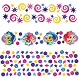 Shimmer and Shine Confetti Value Pack Blue/Hot Pink (3 types)