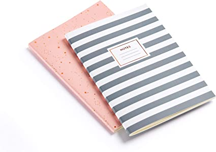 MIQUELRIUS 1309 - Pack 2 Cuadernos Cosidos A5, tapa blanda, 40 Hojas Punteadas: Amazon.es: Oficina y papelería