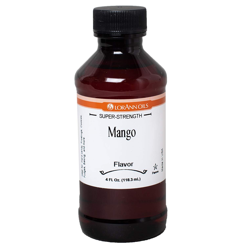 LorAnn Mango Super Strength Flavor Flavor, 4 ounce bottle