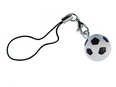 Miniblings balón de fútbol Handyanhänger Copa Mundial Handyschmuck ...
