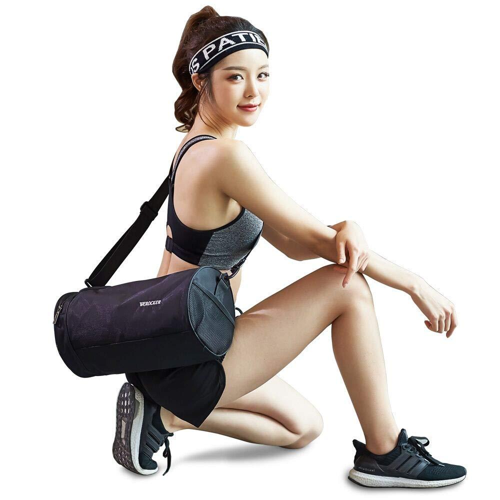 Reiserucksack Unisex-Fitnesstasche Gym Tasche wasserdicht und leicht /… Umh/ängetasche f/ür das Fitnessstudio Sporttasche f/ür m/änner Frauen