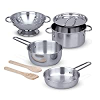 Let's Play House! Pots & Pans Set: Play House - Kitchens & Play Sets