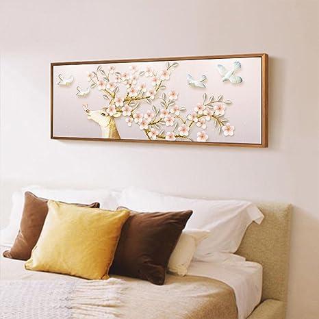 Wangs Pittura decorativa moderna fondo della camera da letto-B ...