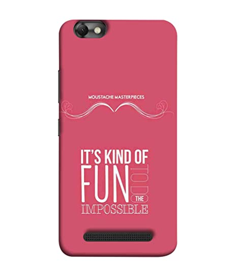 big sale d97a9 d4a2d Printfidaa Lenovo Vibe C Back Cover It's Kind of: Amazon.in: Electronics