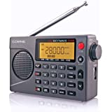 CC Skywave SSB AM, FM, Shortwave, NOAA Weather + Alert, Scannable VHF Aviation Band and Single Side Bands Small Battery Operated Portable Travel Radio