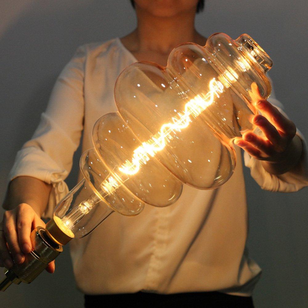 220//240 V LightingDesigner panal de miel rosca Edison E27 regulable Bombilla LED gigante de 4 W