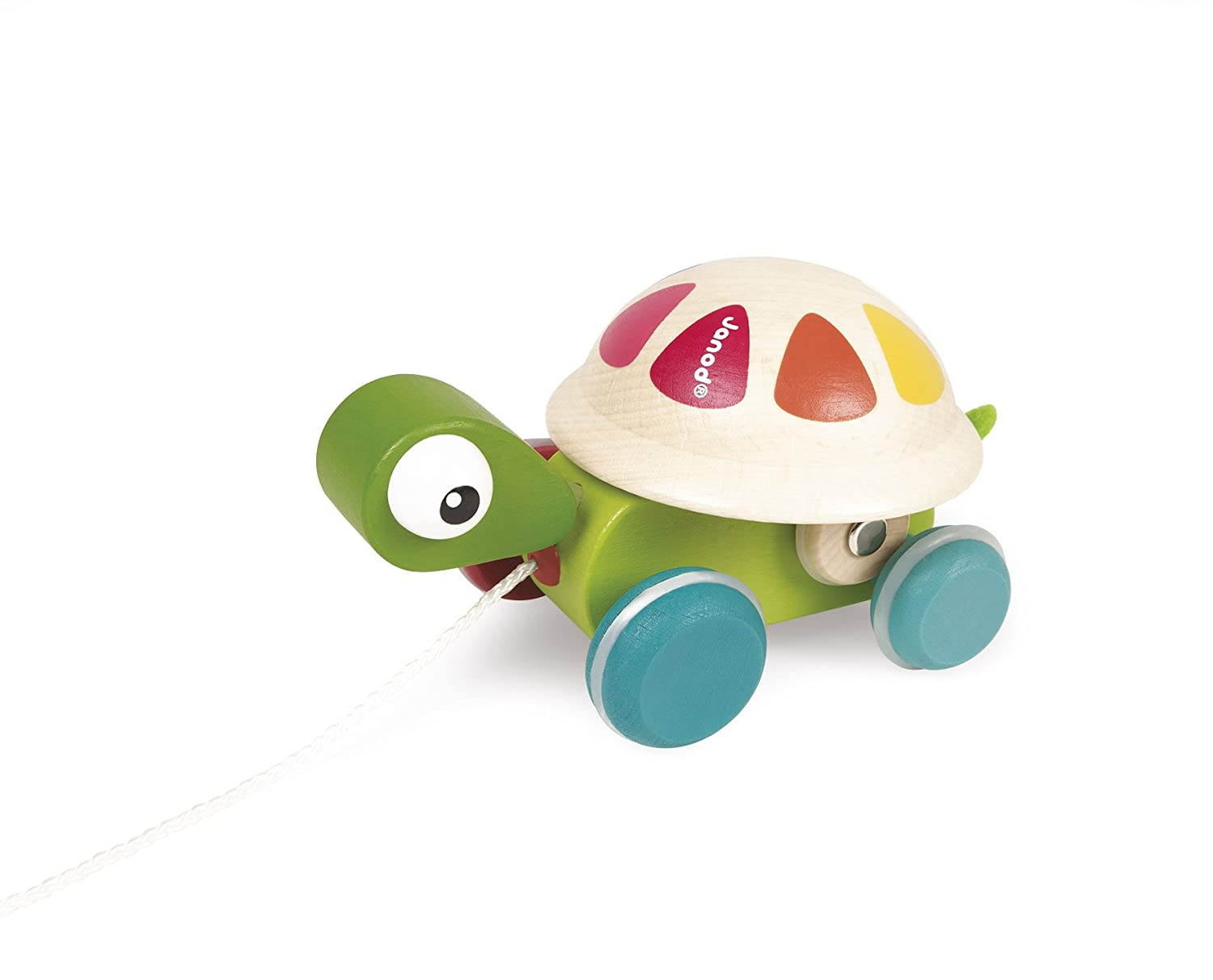 Janod Pull Along Turtle Toy