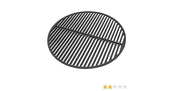 Rejilla grill parrilla redonda hierro fundido 54,5 cm asado ...