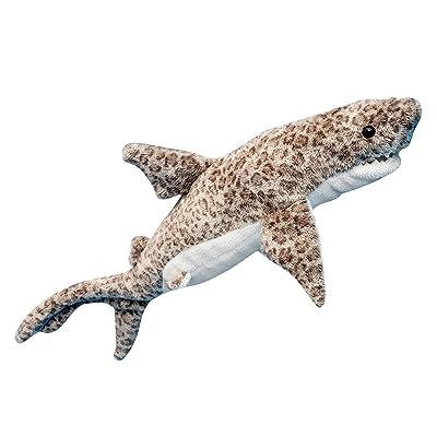 Douglas Titus Tiger Shark Plush Stuffed Animal: Toys & Games