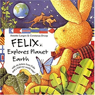 Letters from Felix: A Little Rabbit on a World Tour with Envelope ...