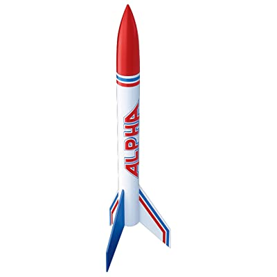 Estes Alpha Rocket (Pack of 2): Industrial & Scientific