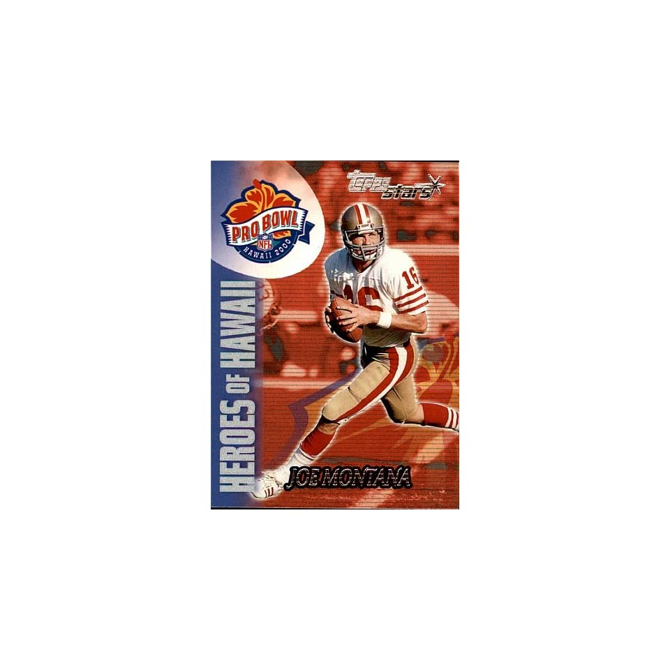 2000 Topps Joe Montana # 142 San Francisco 49rs