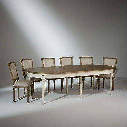 Robin Des Bois Table Salle A Manger Chene Florence 2m60 Amazon Fr
