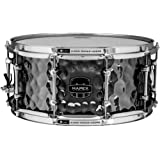MAPEX ARST465HCEB Armory 14 x 6.5 Inches The Daisy Cutter Snare Drum with Chrome Hardware, Hammered Black Chrome Finish