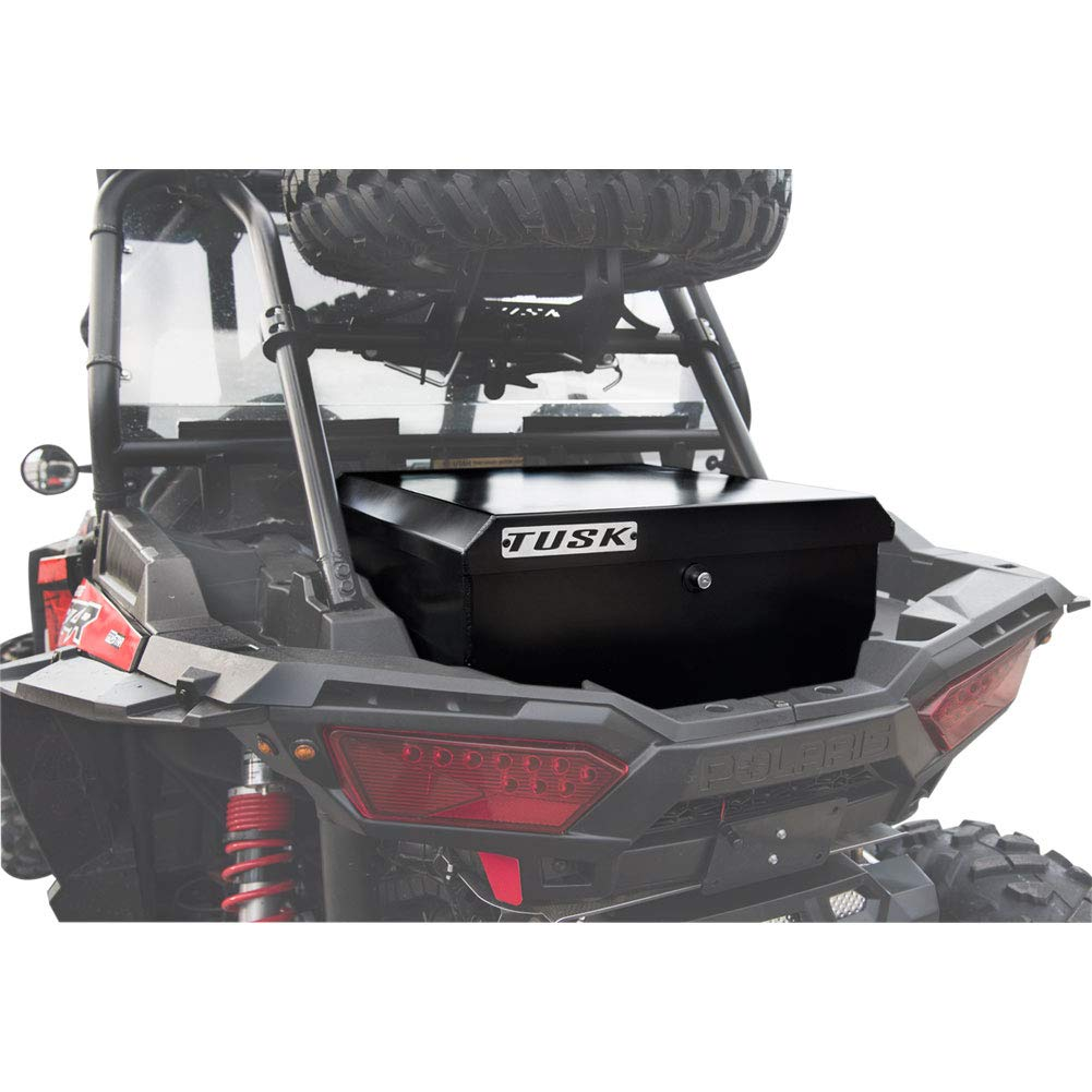 Tusk UTV Cargo Box - Fits: Polaris Ranger RZR XP 4 1000 Dynamix Edit. 2019 TUSK OFF-ROAD