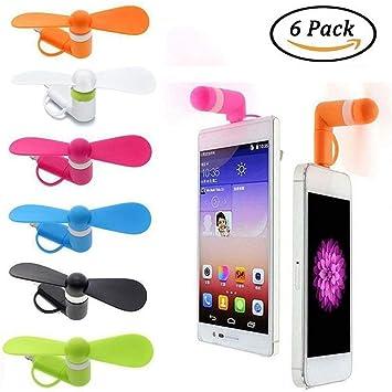 Mini Ventilador USB para teléfono: Amazon.es: Electrónica