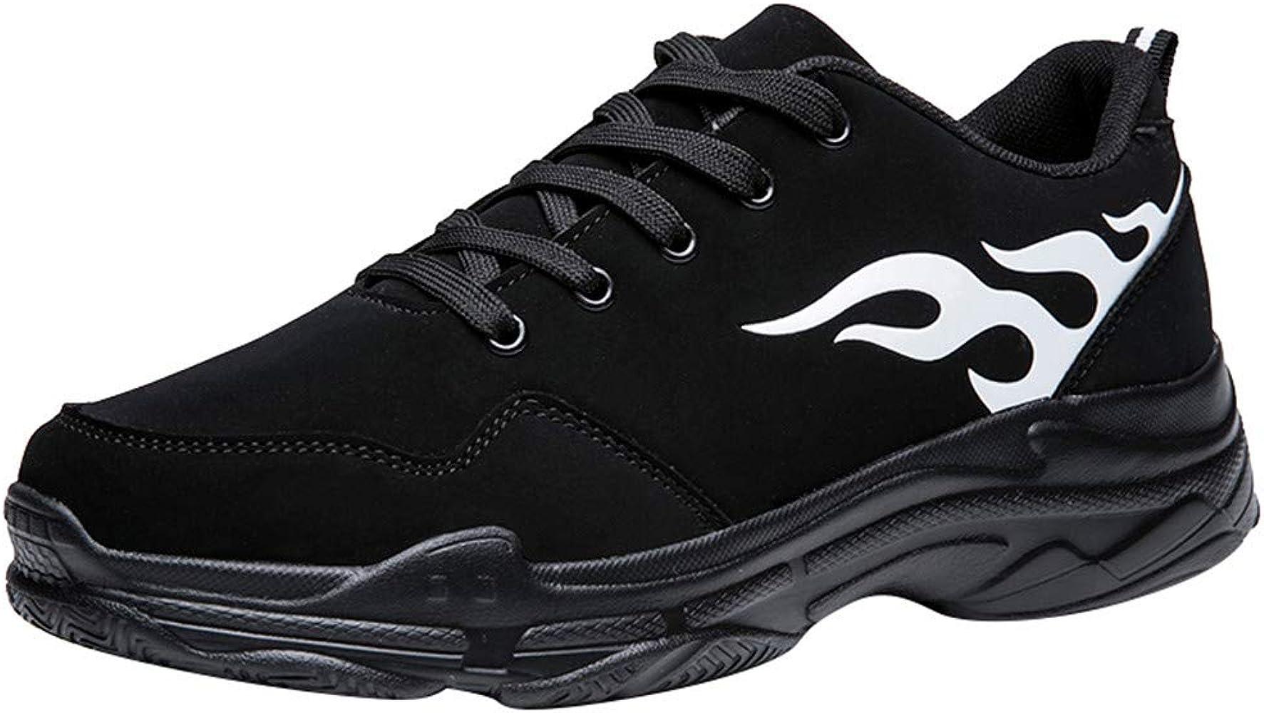 Hombres Moda zapatos deportivos,ZARLLE Fondo grueso zapatos casuales,Resistente al desgaste zapatos para correr,Gimnasio Correr Sneakers,Zapatos de cordones,Otoño calzado deportivo: Amazon.es: Ropa y accesorios