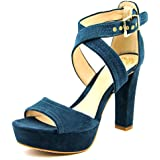 Vince Camuto Womens Shayla Leather Open Toe Special Occasion Platform Sandals