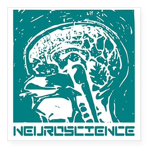 CafePress - Neuroscience Square Sticker 3