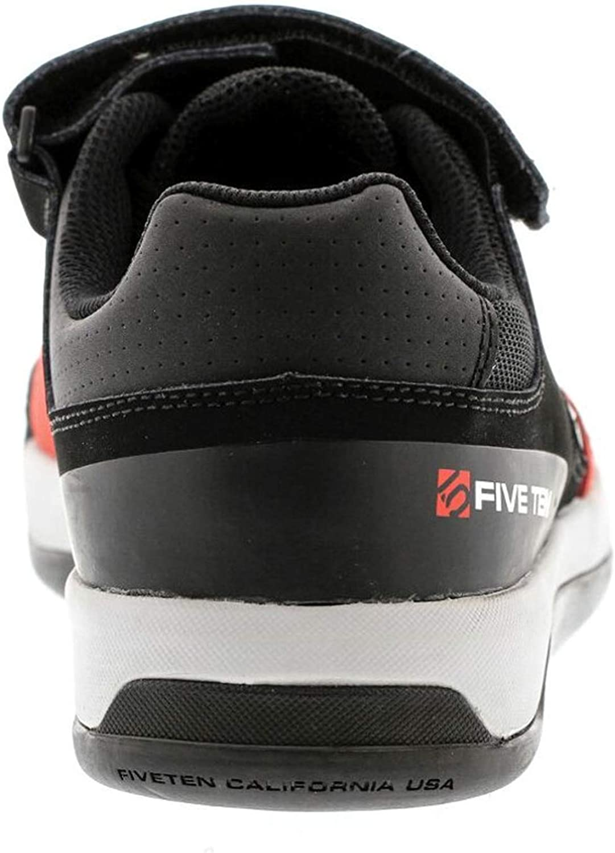 Five Ten MTB-Schuhe Hellcat Clipless Schwarz//Rot