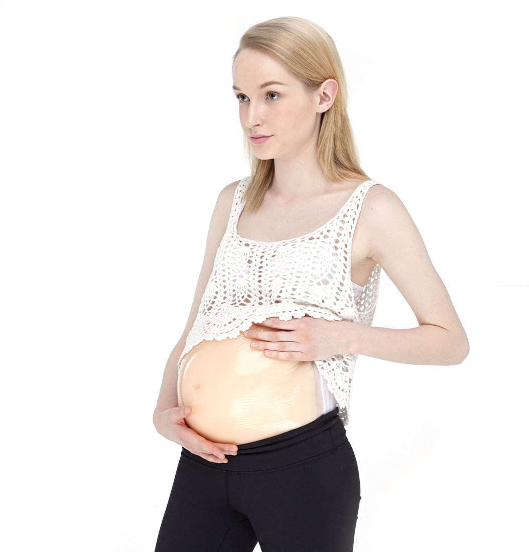 Motawator Silicone Fake Pregnancy Belly for Movie Props or Cross Dresser Cosplay Pretend Pregnancy (6-7 Months 2500g/pc L:37 W:28 H:8cm) by motawator (Image #1)