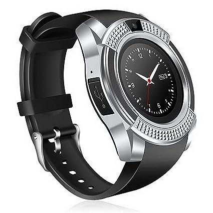 Eroihe Bluetooth Reloj Inteligente Monitor de Sueño Podómetro Smartwatch Tarjeta SD/SIM de Soporte