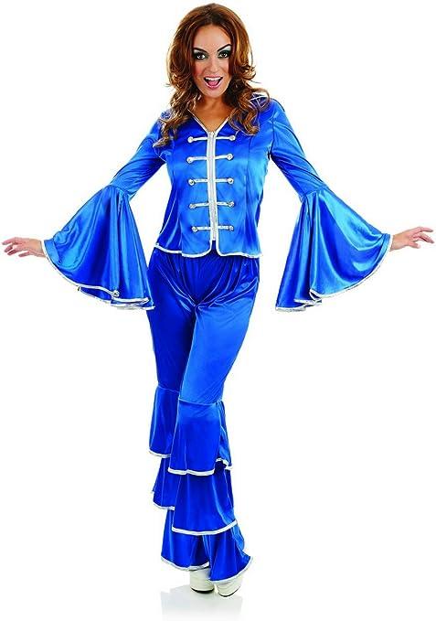 Fun Shack Azul Miembro De Grupo De Los Años 70 Disfraz para ...